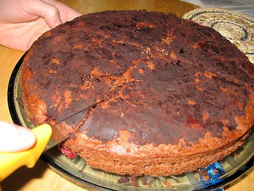 Verbrannter kuchen was tun